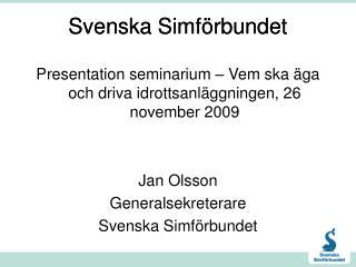 Svenska Simf�rbundet