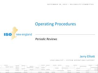 September 18, 2013 – Reliability committee