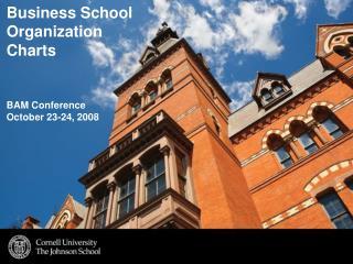 Business School Organization  Charts