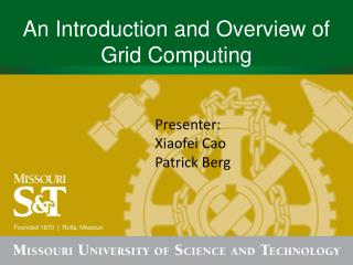 An Introduction and Overview of Grid Computing