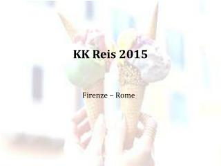 KK Reis 2015