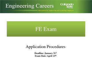 FE Exam