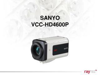 SANYO VCC-HD4600P