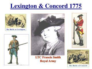 Lexington  Concord 1775