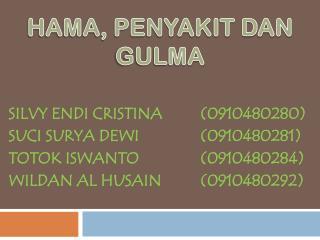 SILVY ENDI CRISTINA(0910480280) SUCI SURYA DEWI(0910480281) TOTOK ISWANTO (0910480284)