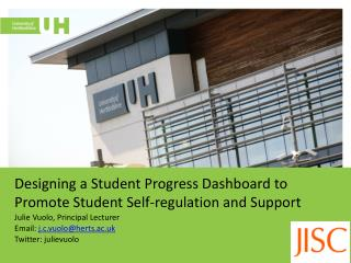 Designing a Student Progress Dashboard to  Promote Student  S elf-regulation  and  Support