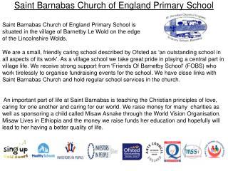 Saint Barnabas Church of England Primary  School