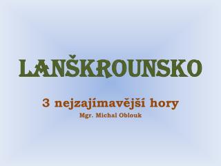 Lan�krounsko