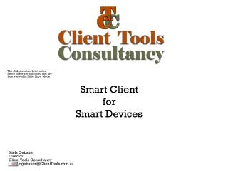Smart Client for Smart Devices