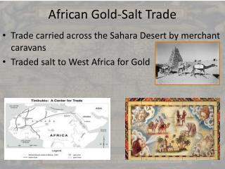 African  Gold-Salt Trade