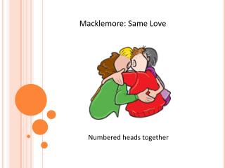 Macklemore : Same Love