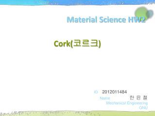 Material Science HW2
