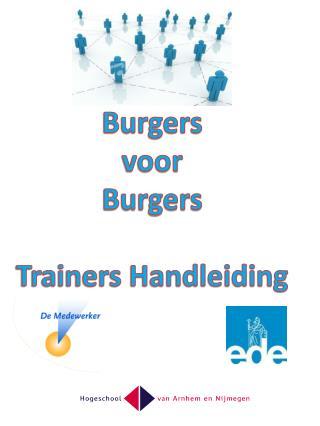 Burgers voor Burgers Trainers  Handleiding