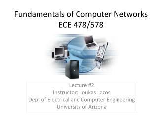 Fundamentals of Computer Networks ECE 478/578