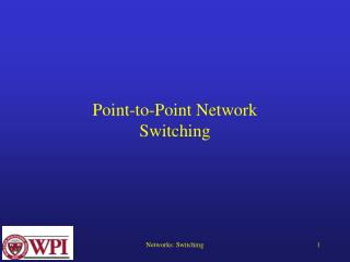 Point-to-Point Network Switching