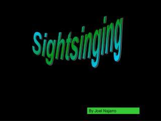 Sightsinging