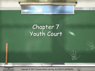 Chapter 7  Youth Court