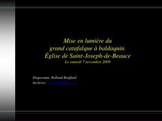 Diaporama: Rolland Bouffard Archives:    spbbeauce