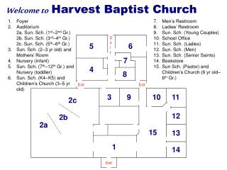Welcome to Harvest Baptist Church