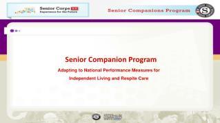 Senior Companion Program
