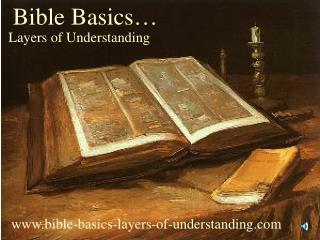 Bible Basics…