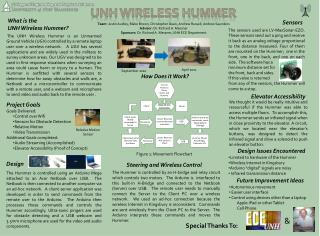 UNH Wireless HUMMER