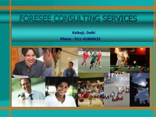 FORESEE CONSULTING SERVICES
