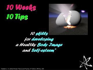 10 Weeks 10 Tips