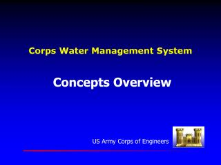 Corps Water Management System