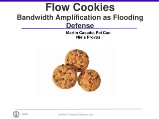 Flow Cookies Bandwidth Amplification as Flooding Defense