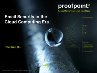 Email Security in the Cloud Computing Era
