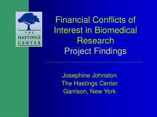 Financial Conflicts of Interest in Biomedical Research Project Findings