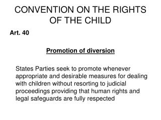 CONVENTION ON THE RIGHTS OF THE CHILD