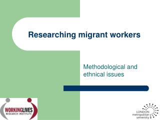 Researching migrant workers