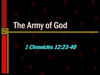 The Army of God