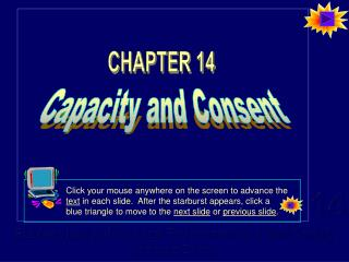 Capacity and Consent