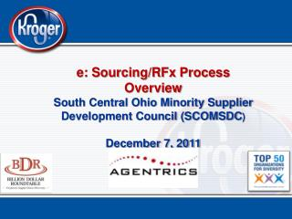 e: Sourcing/RFx Process Overview