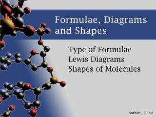 Formulae, Diagrams and Shapes