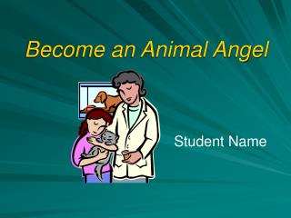 Become an Animal Angel