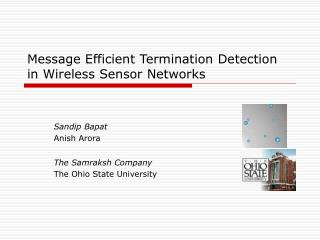 Message Efficient Termination Detection in Wireless Sensor Networks