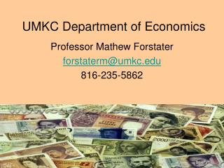 UMKC Department of Economics