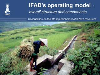 Consultation on the 7th replenishment of IFAD's resources