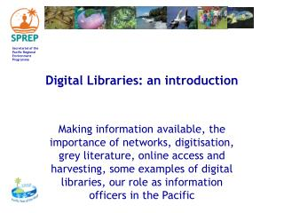 Digital Libraries: an introduction
