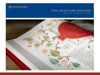 Heritage Program Mission