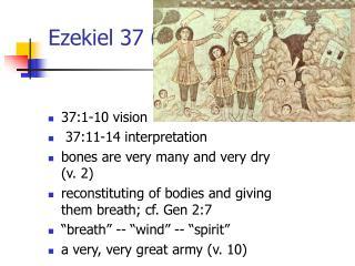 Ezekiel 37 1