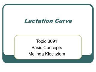 Lactation Curve