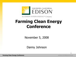 Farming Clean Energy Conference