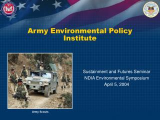 Army Environmental Policy Institute