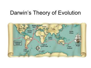 Darwin�s Theory of Evolution