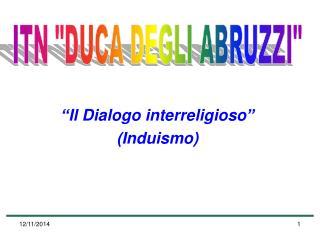 """Il Dialogo interreligioso"" (Induismo)"